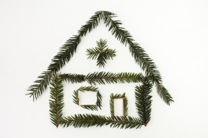 house, Christmas, new Year, Christmas Eve